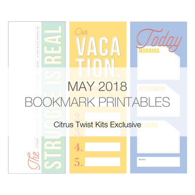Life Bookmark v.1 Digitals - May 2018