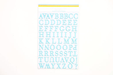 Citrus Twist Malibu  Aqua Puffy Alphabet