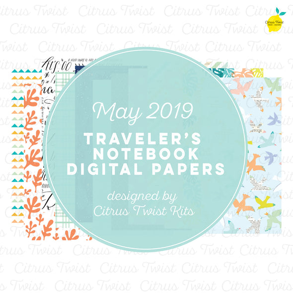 Excursions Notebook Digital Papers - May 2019