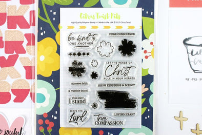 SALE: Citrus Twist GraceBox v14 Stamp