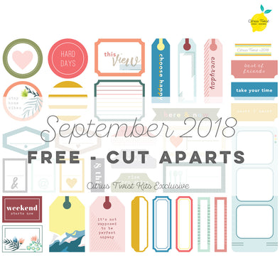 Heartbreaker Cut Aparts - FREE - September 2018