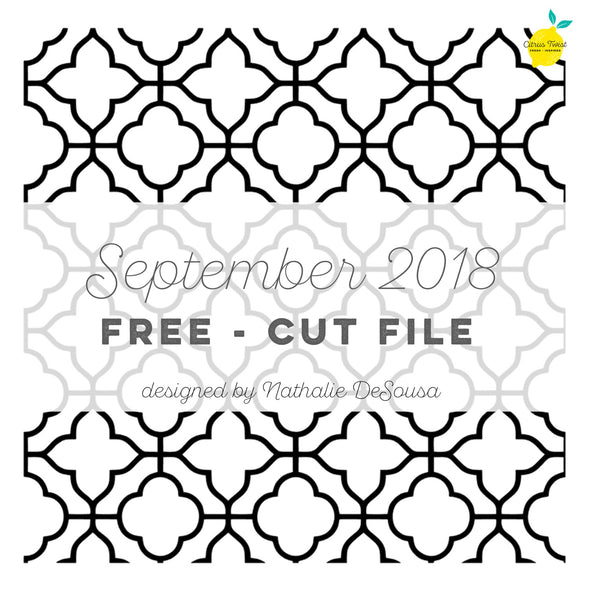 Cut file - FREE - Tile work - September 2018
