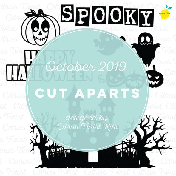 Cut file - Spooky - October 2019