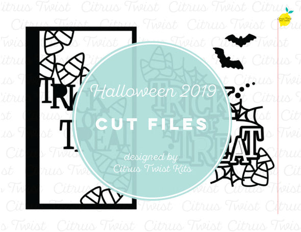 Cut file - Trick or Treat - October 2019