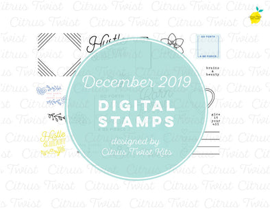 "This is Life ""Born for This"" Digital Stamp Set - December 2019"