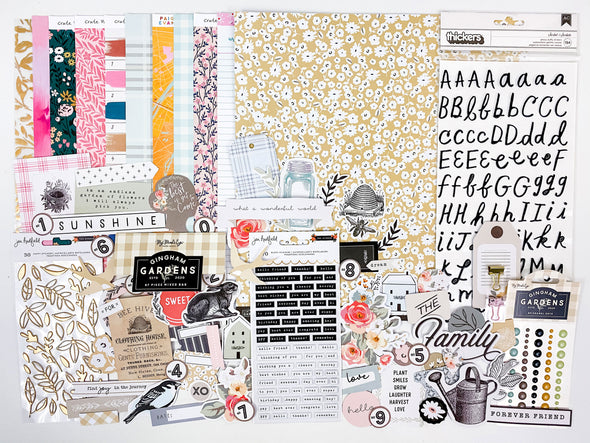 "December 2020 12"" x 12"" Scrapbooking Add-on Kit"