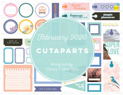 Printable POSSIBILITIES Cutaparts - February 2020