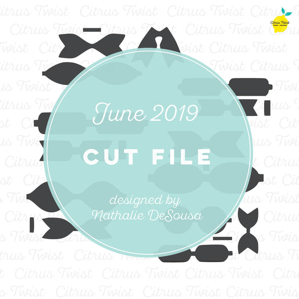 Cut file - Bows - June 2019