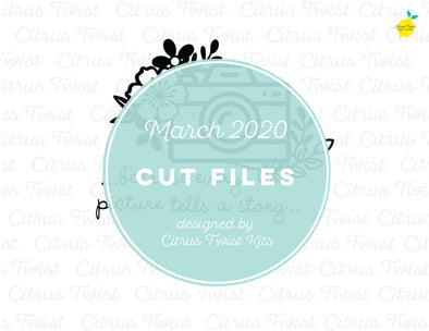 March 2020 - PICTURE STORY - Cut File