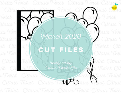 March 2020 - WISH DREAM DO - Cut File