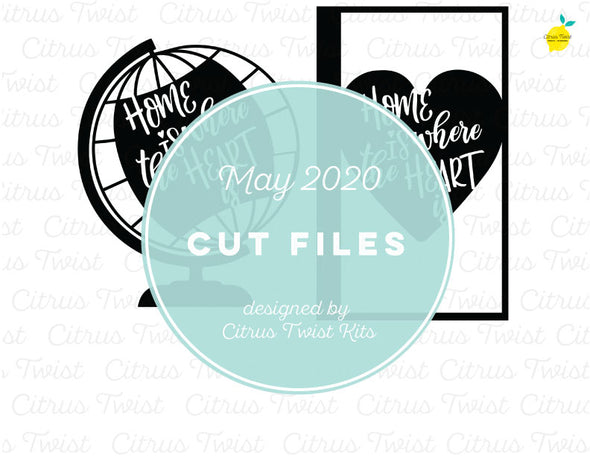 Cut file - HOME IS - May 2020