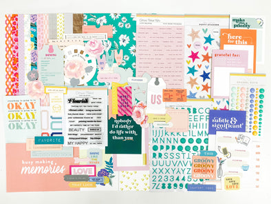 "Life Crafted ""FLOURISH"" Kit - October 2020 (View)"