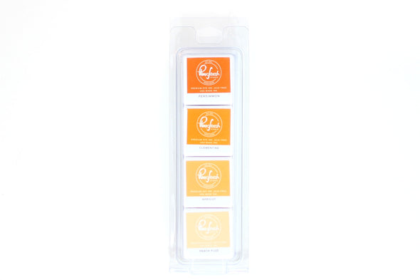 Pinkfresh INDIAN SUMMER Studio Premium Dye Cube Ink Pads 4 Colors