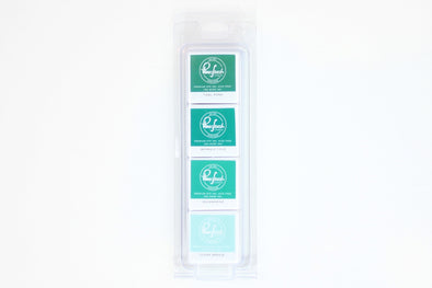 Pinkfresh ISLAND OASIS Studio Premium Dye Cube Ink Pads 4 Colors