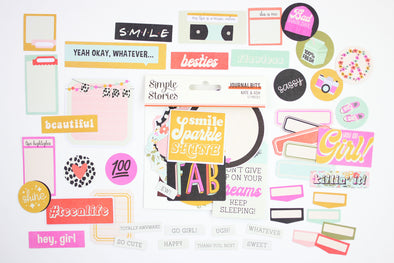 Simple Stories Kate & Ash Bits & Pieces Die-Cuts