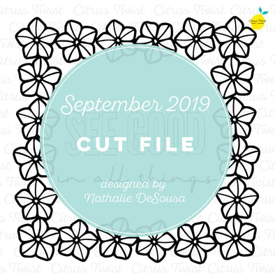 Cut file - See Good In All Things - September 2019