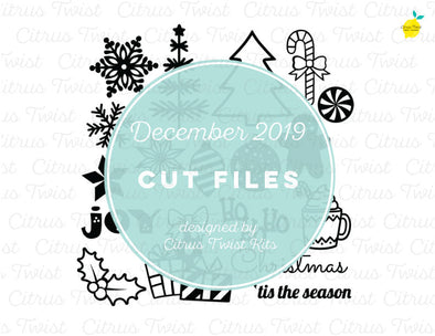 Cut file - Christmas Basics - December 2019