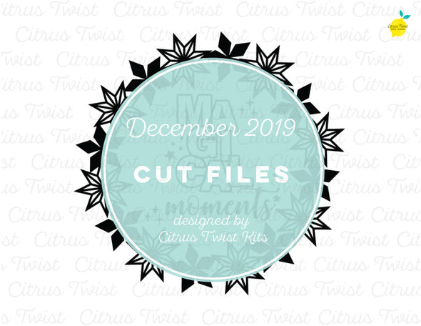 Cut file - Magical Moments - December 2019