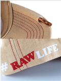 Raw Smokers Hat with Built in Poker Beige/Tan