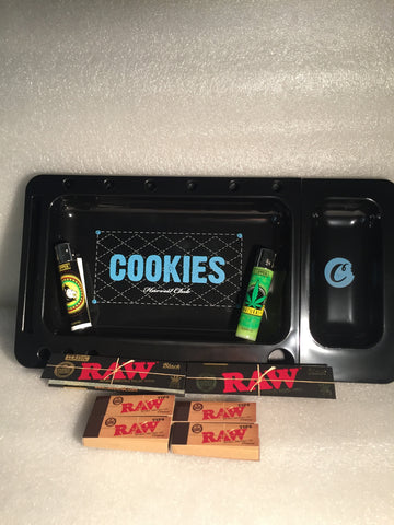 Cookies Tray Raw Black Bundle