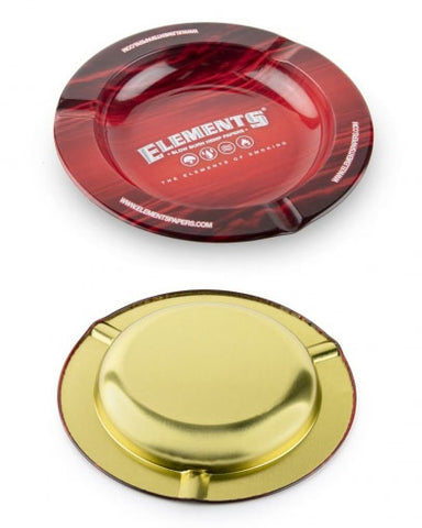 Elements Red Ashtray