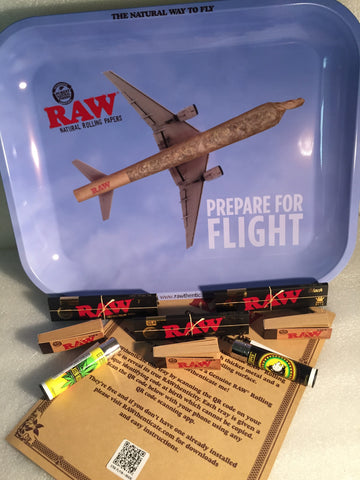 Flying Tray Raw Bundle