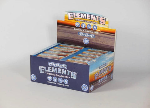Elements Regular Perforated Tips Box