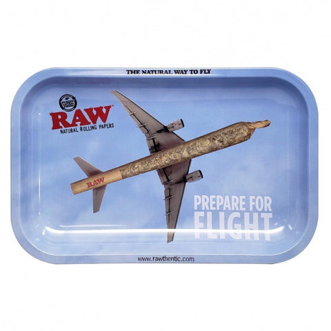Raw Flying Rolling Tray Small