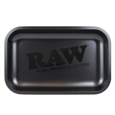 Raw Matte Black Murder'd Rolling Tray Small