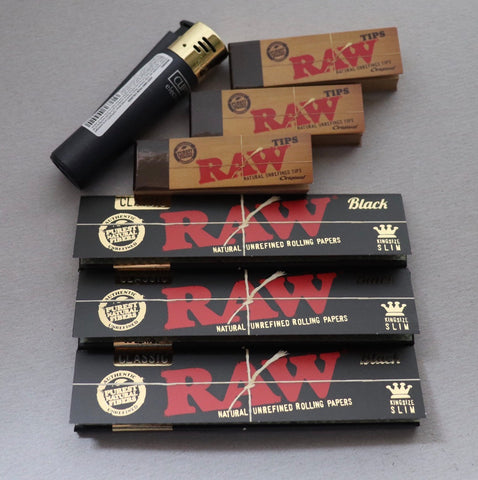 Raw Black Road Pack