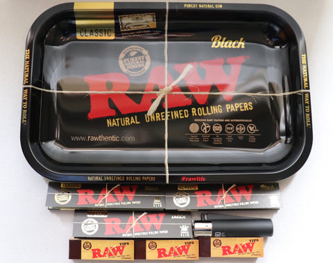 Raw Black Tray Bundle