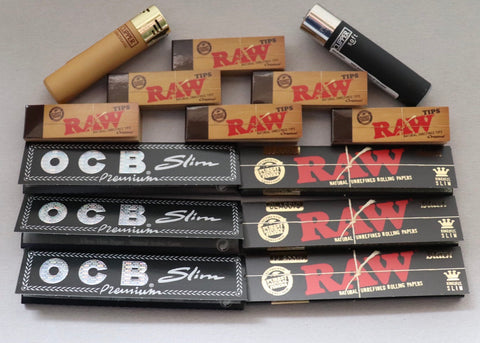 Raw Ocb Smoker Bundle