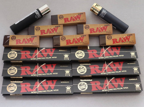 Raw Smoker Bundle