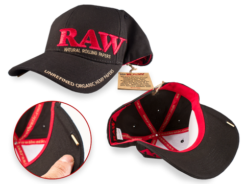 Raw Smokers Hat with Built in Poker
