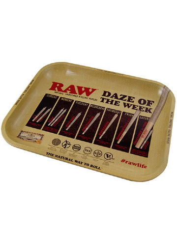Raw Daze Rolling Tray