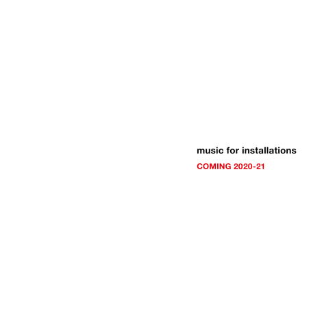 music for installations