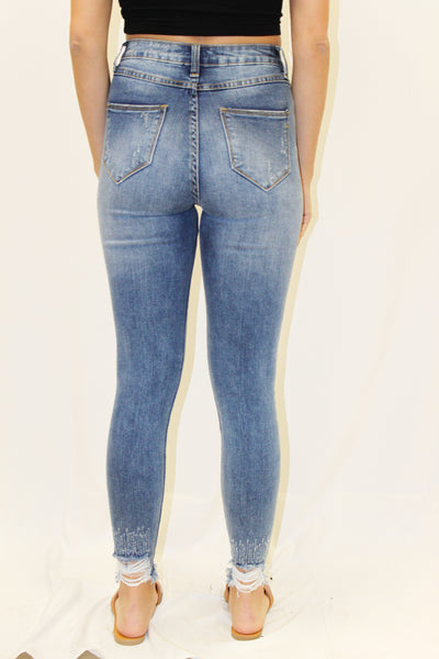 sunny high waisted jeans