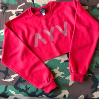 Hollywood Crop Sweatshirt