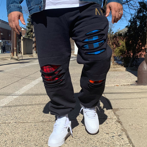 "LumberJack ""Black"" Sweats"