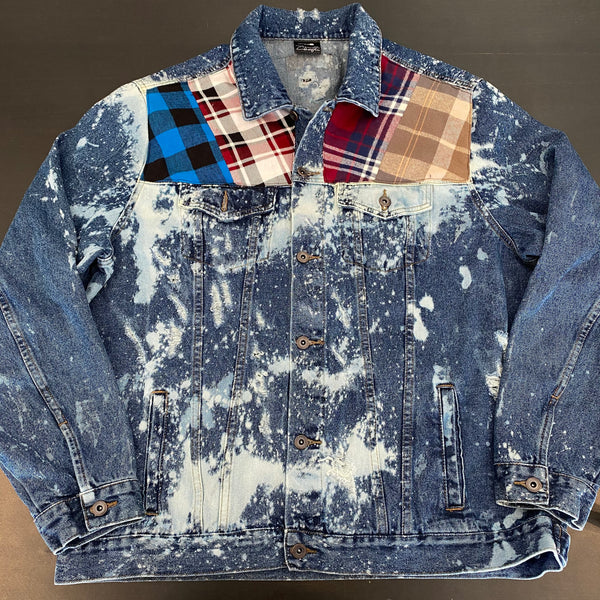 Vintage LumberJack Denim Jacket - River (2x)