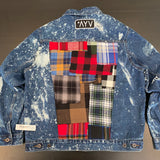 Vintage LumberJack Denim Jacket - Snag (Large)