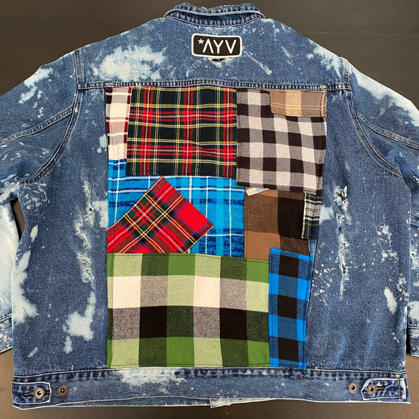 Vintage LumberJack Denim Jacket - Mixer (4x)