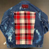 Vintage LumberJack Denim Jacket - Bucker (2x)