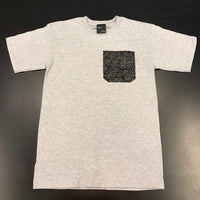 """Black Rose"" Pocket Tee"
