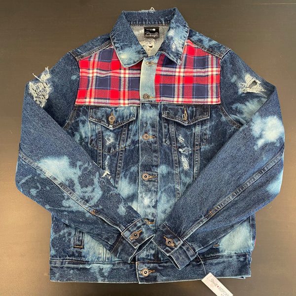Vintage LumberJack Denim Jacket - Jagger (Small)