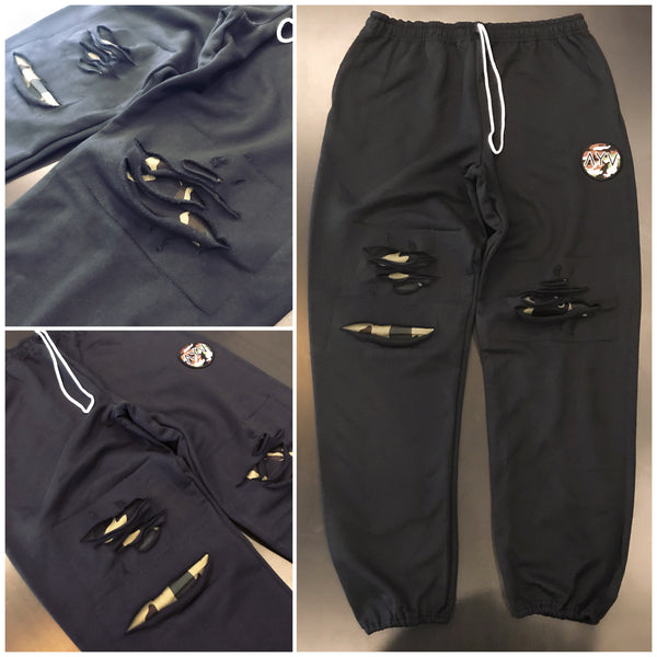 Black War Ready Sweats