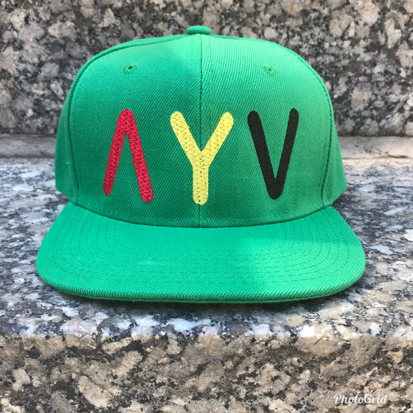 """The Colors"" Snap Back (Green)"
