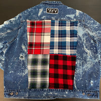 Vintage LumberJack Denim Jacket - Spike (4x)