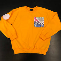 """Santorini"" Pocket Crewneck Sweatshirt"