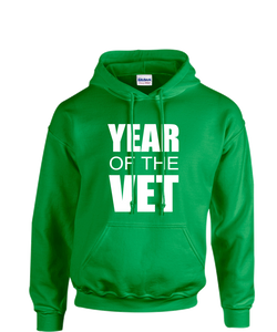 The #YearOfTheVet Hero Hoodie